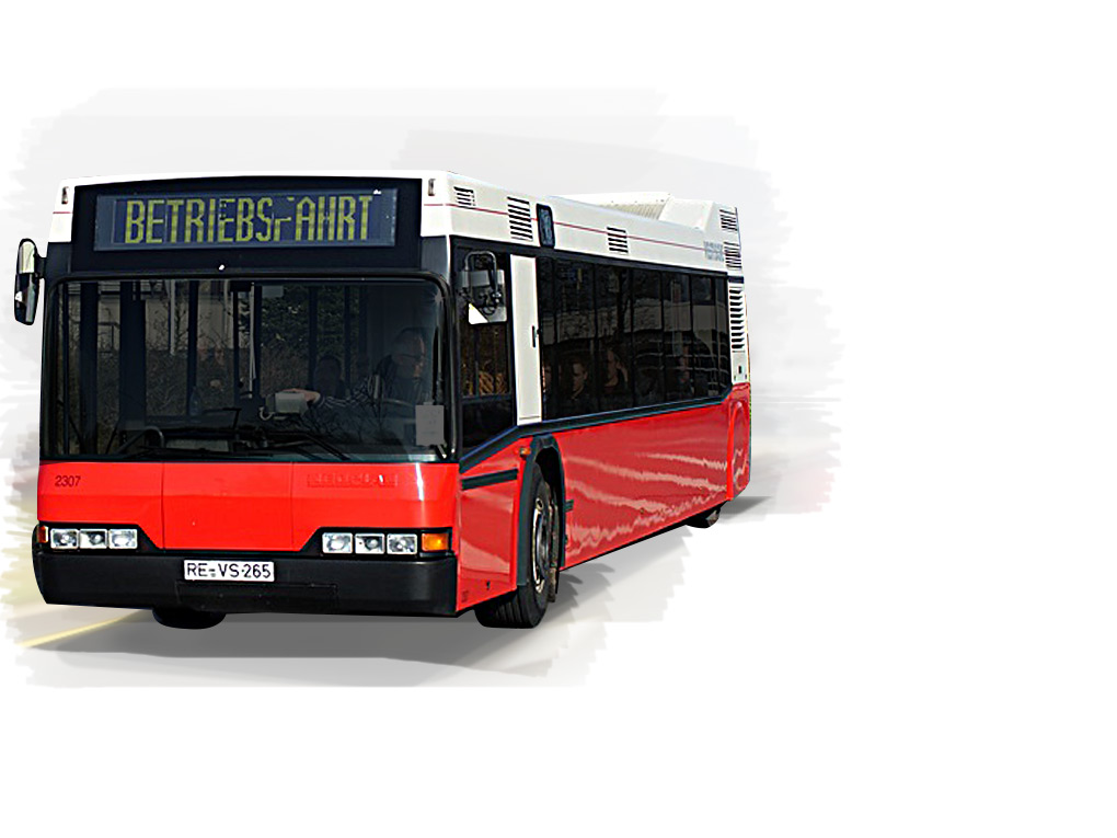 The NEOPLAN Metroshuttle N4114 – a low-floor coach that is easy to manoeuvre out on the road