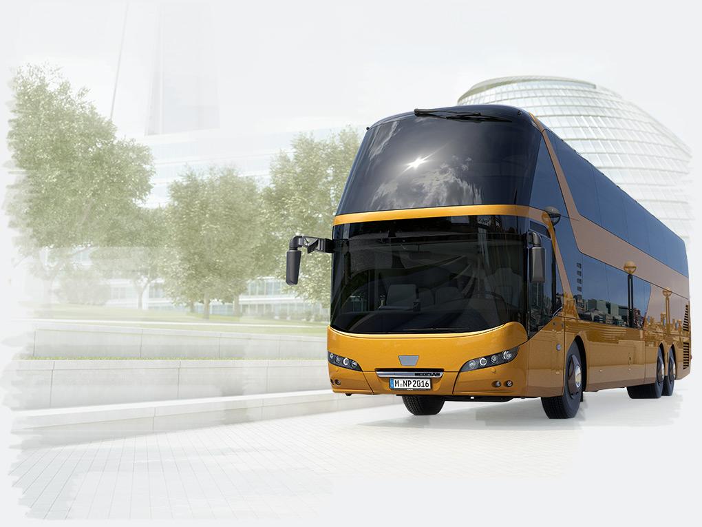The NEOPLAN Skyliner – an ideal combination of comfort and cost-effectiveness