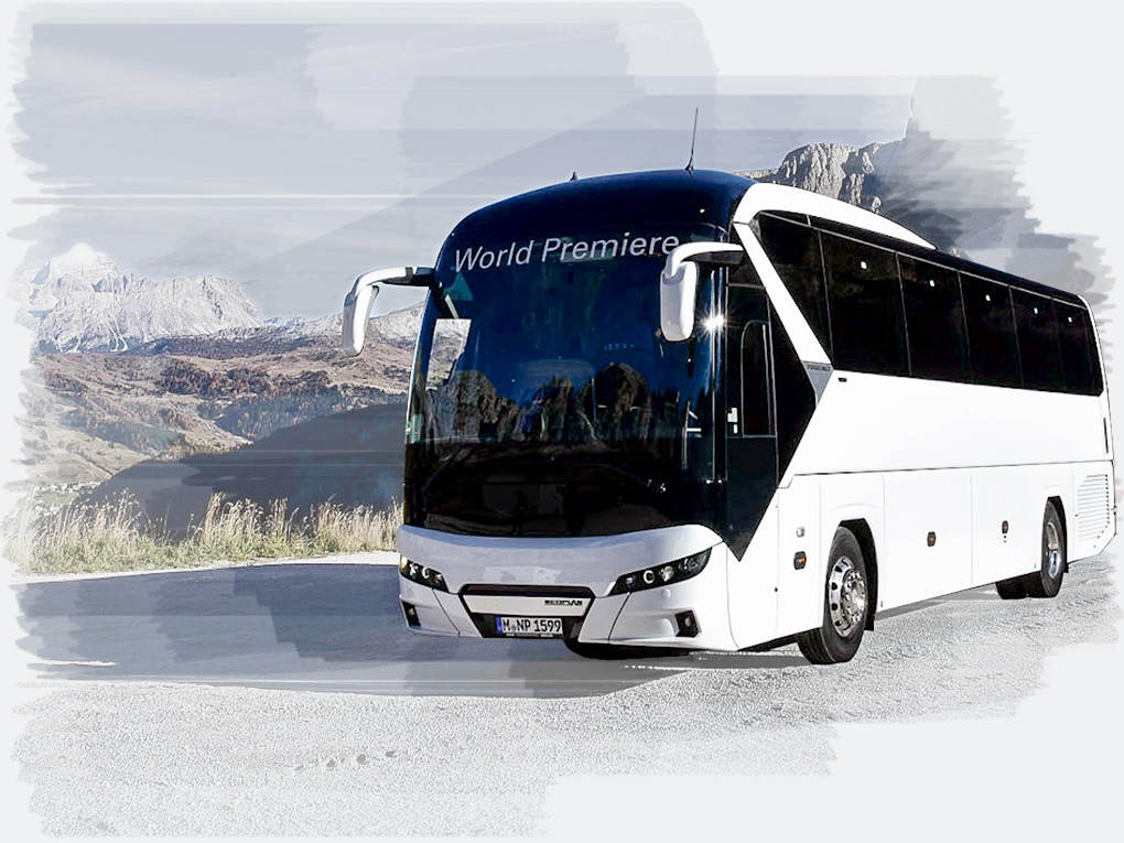 The NEOPLAN Tourliner – state-of-the-art technology and design.
