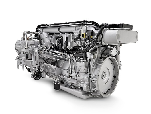 Двигатель MAN D26 с аккумуляторной топливной системой Common Rail